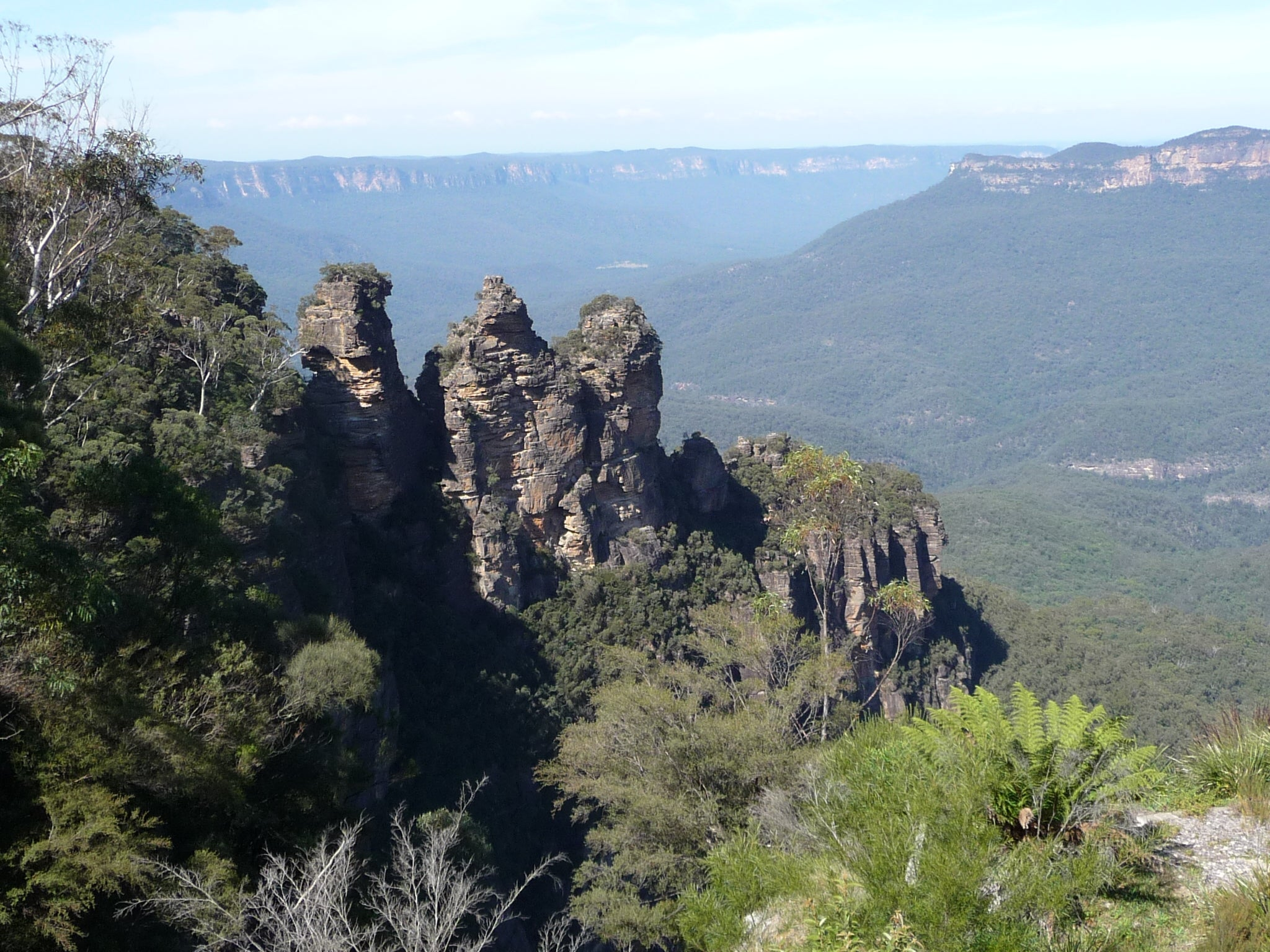 Cumbre en Parque nacional Blue Mountains