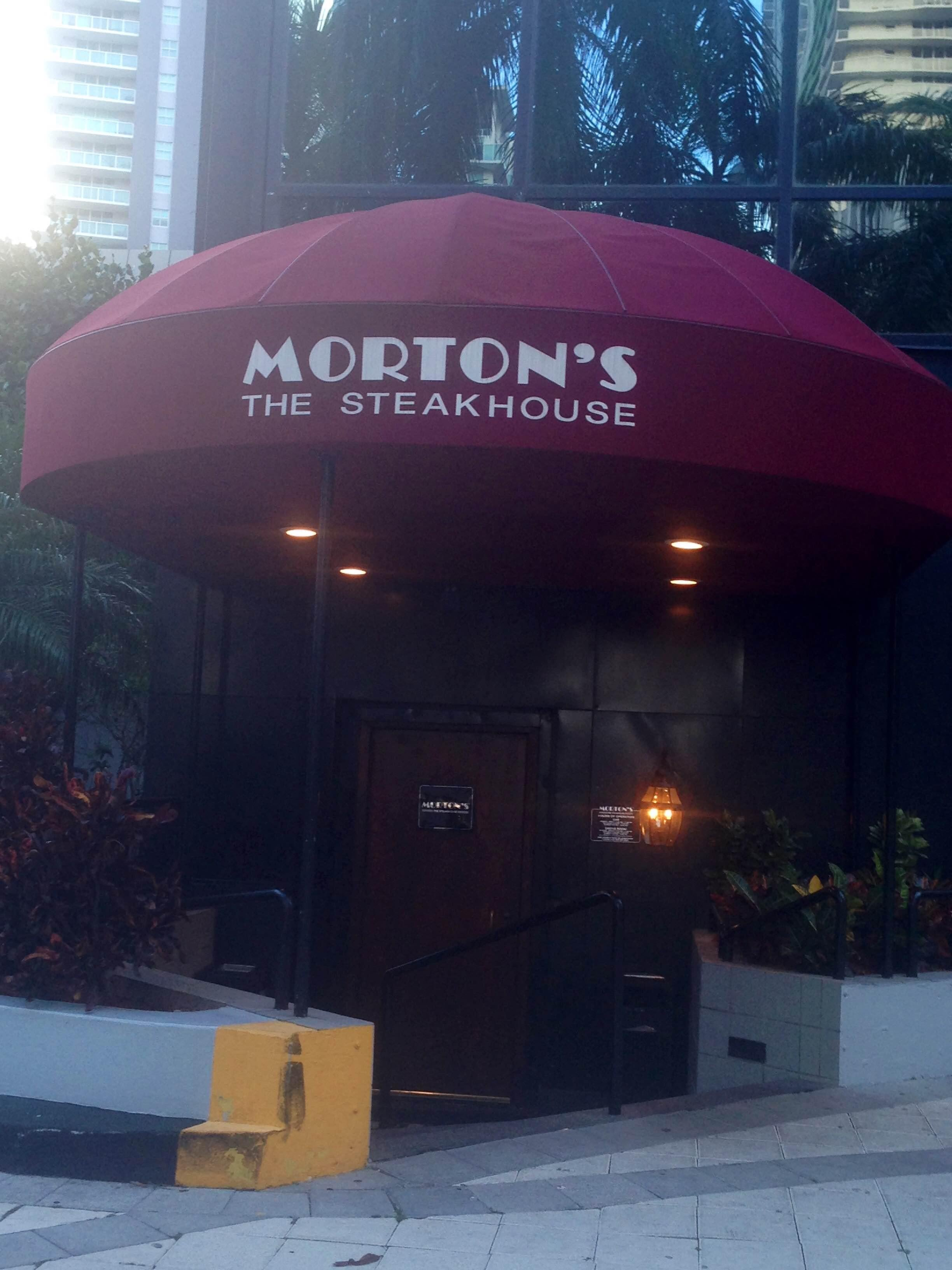 Nieve en Morton's The Steakhouse