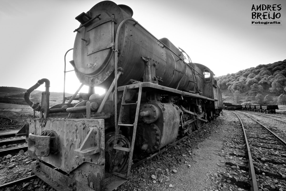 Riotinto Cemetery of trains
