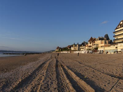 Playa de Blonville-sur-met