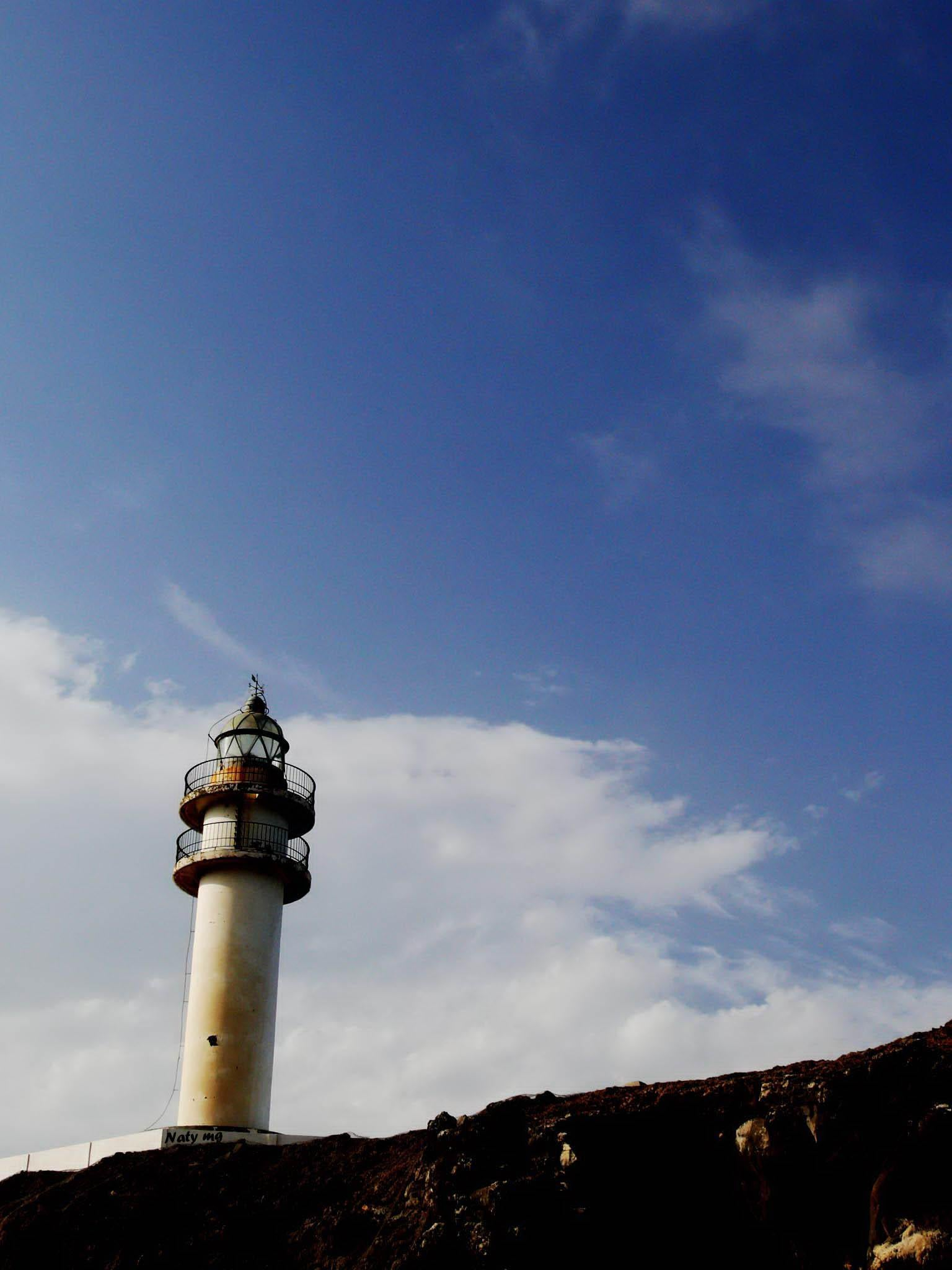 The lighthouse of the Canarian Institute of marine science