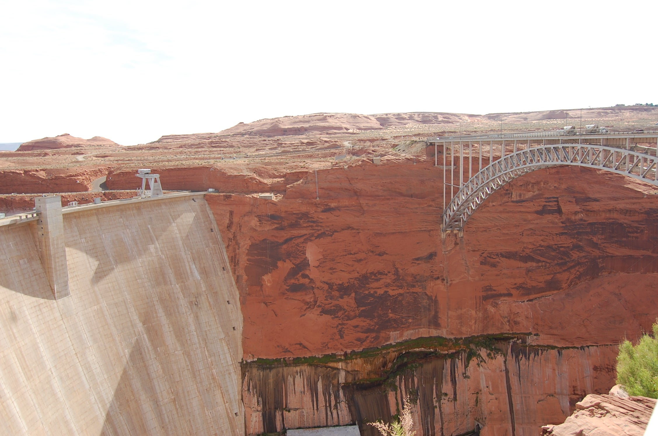 Historia antigua en Glen Canyon Bridge