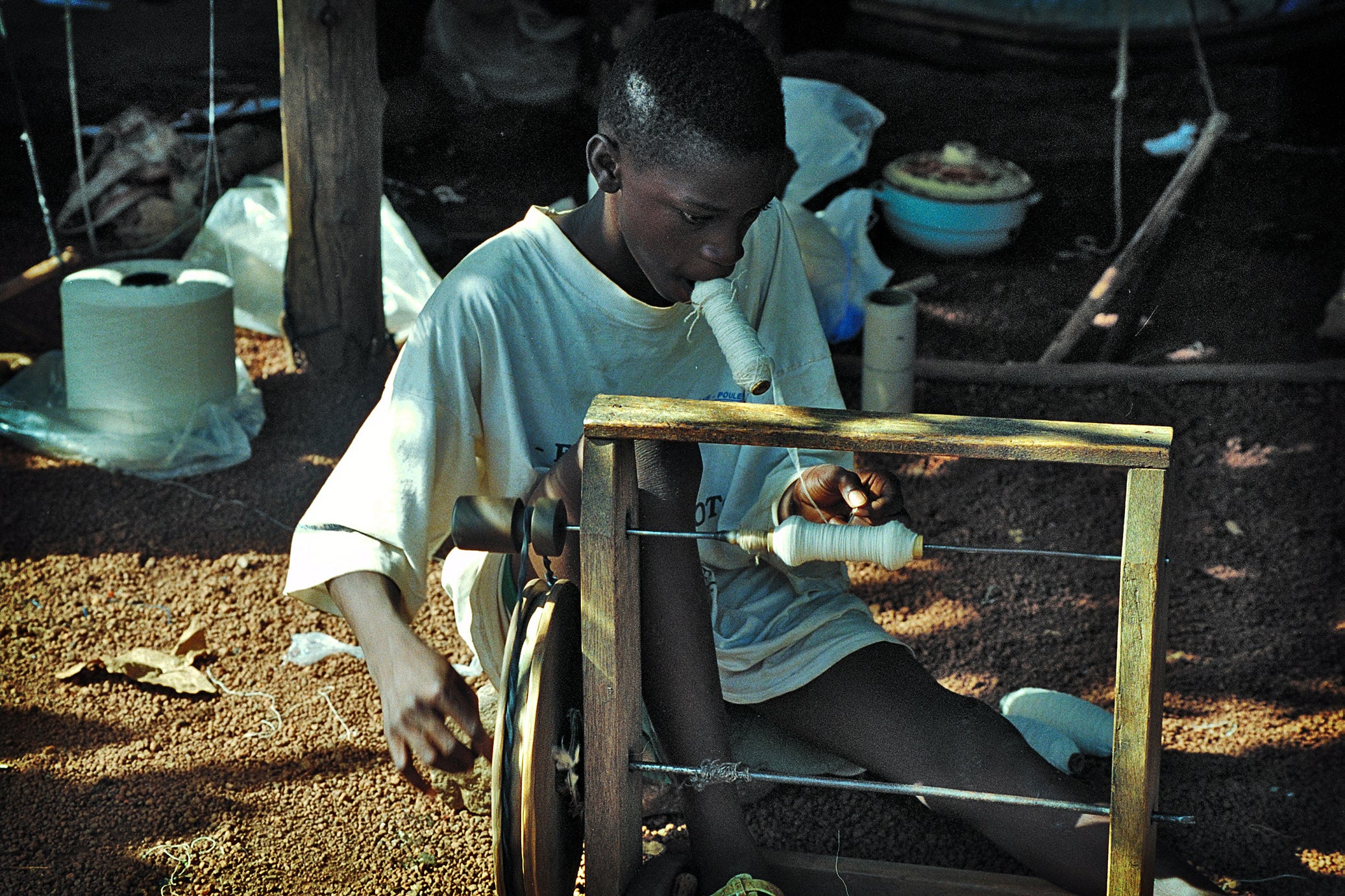 THE SENUFO Country, the Weavers of Waraniéné