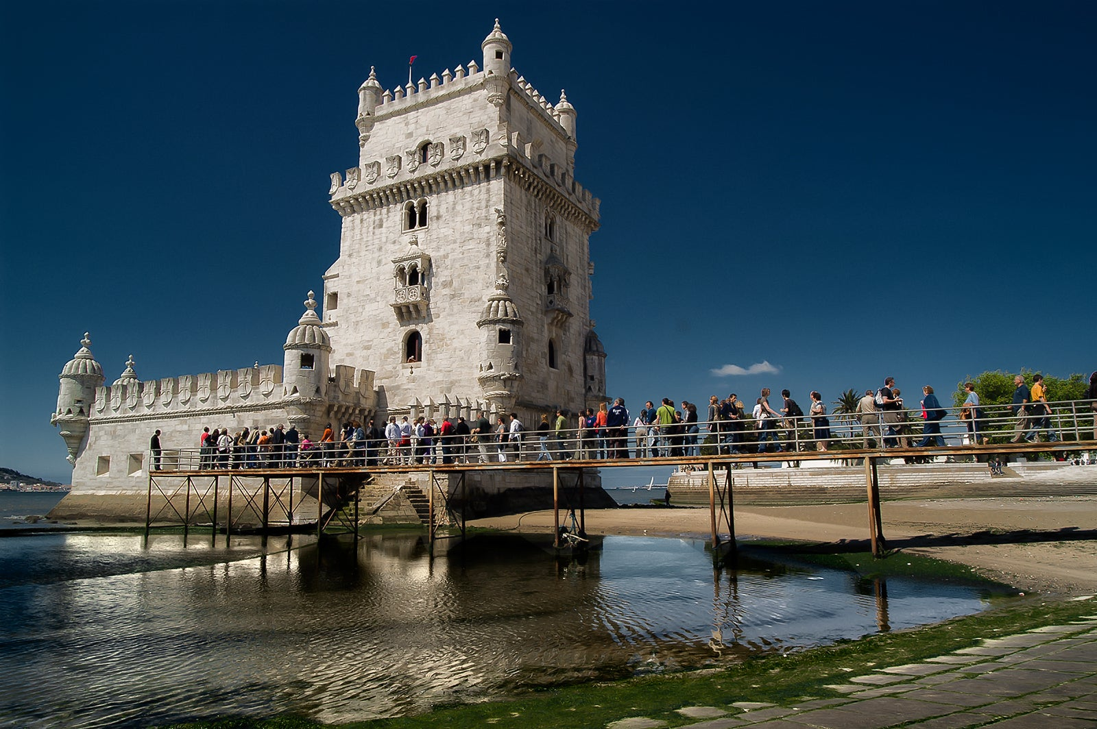 City in Belém Tower