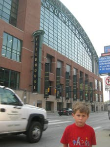 Conseco Fieldhouse a Indianapolis