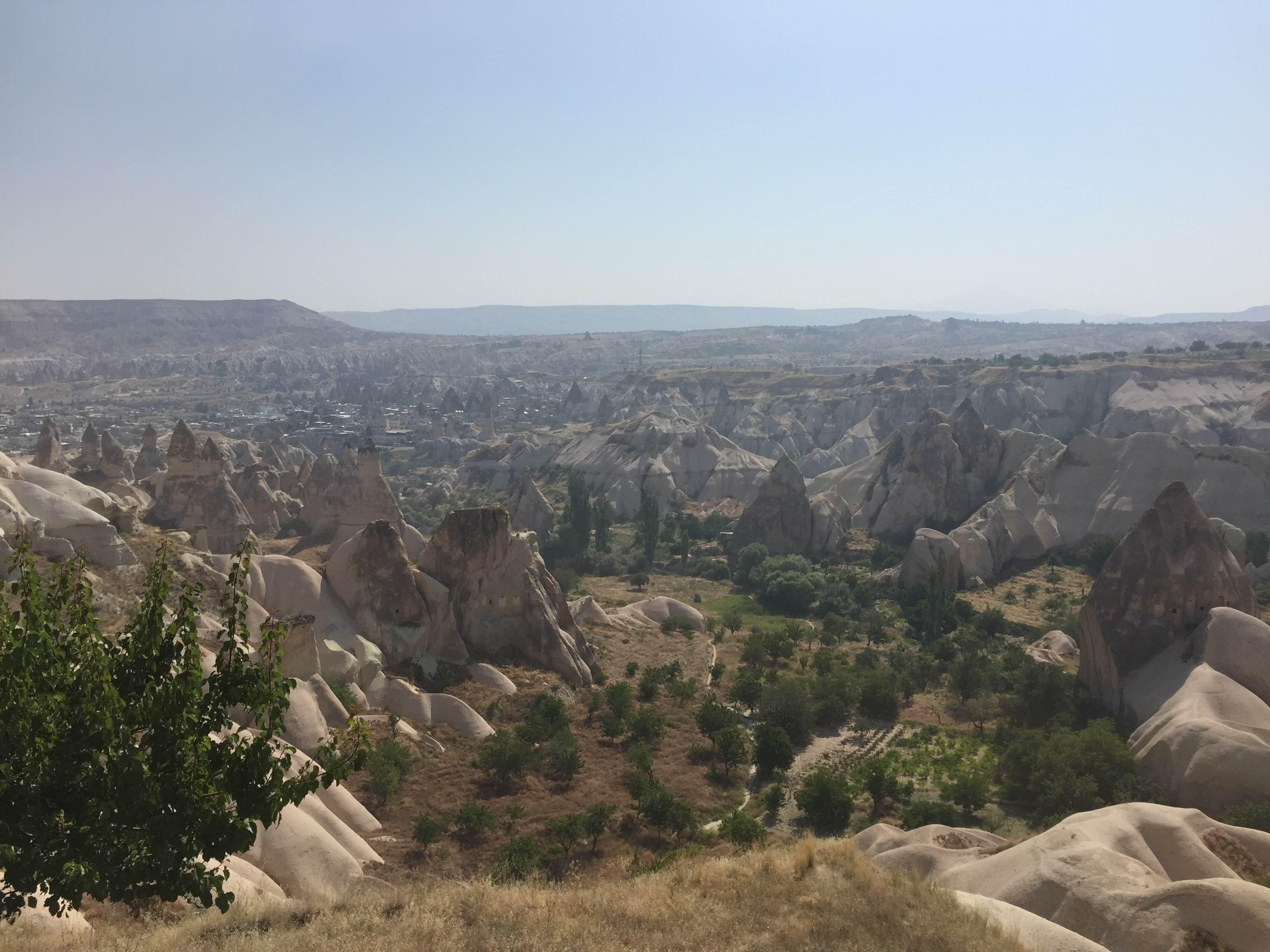 Camino en Mirador de Göreme - Sunset Point
