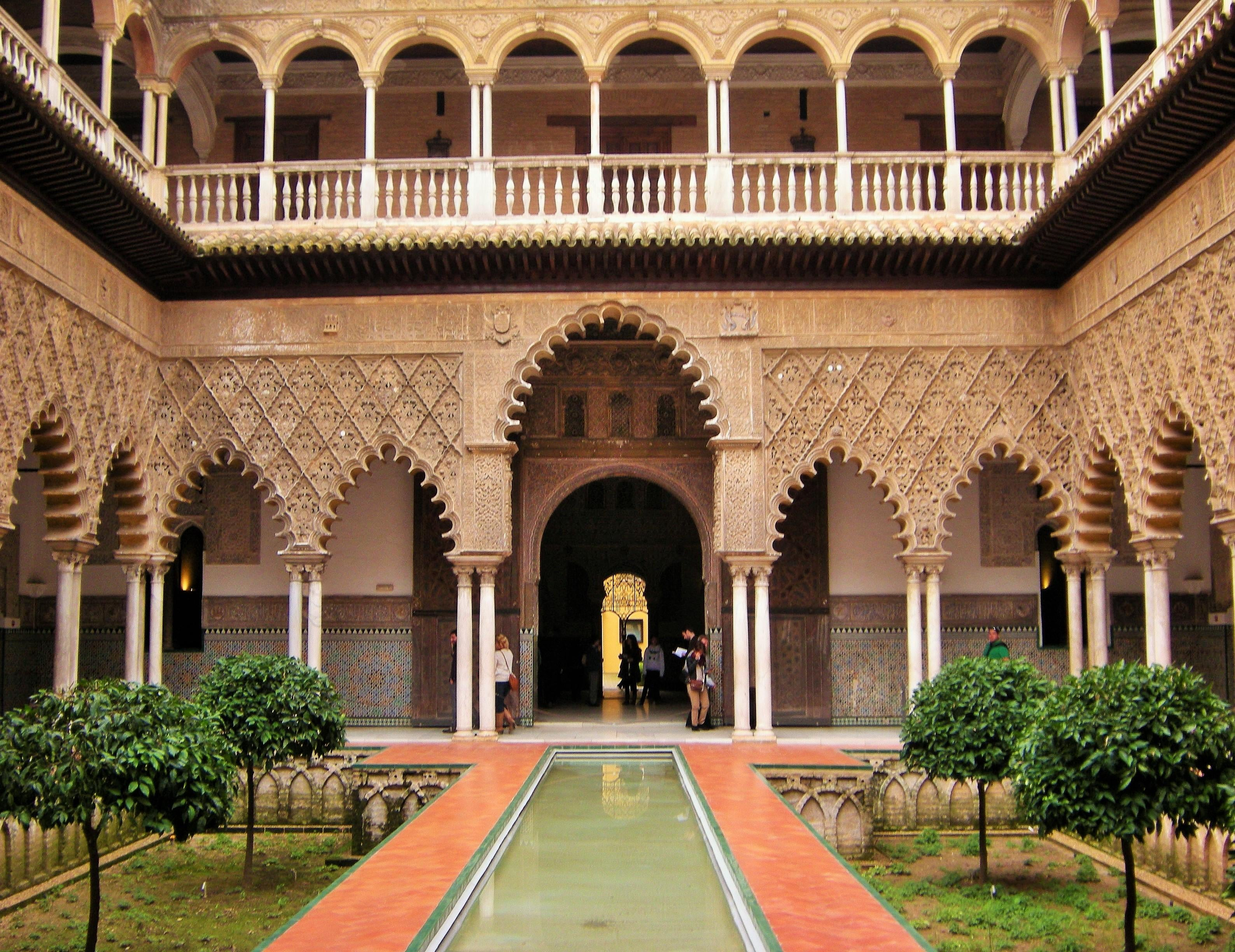 Patio en Real Alcázar