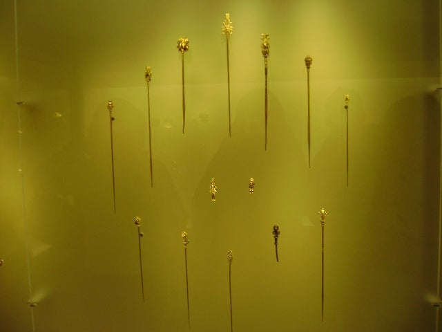 Pared en Museo del Oro