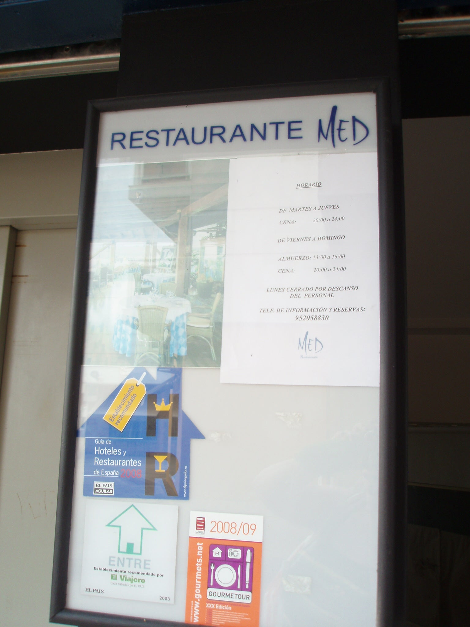 Restaurante Med (closed)