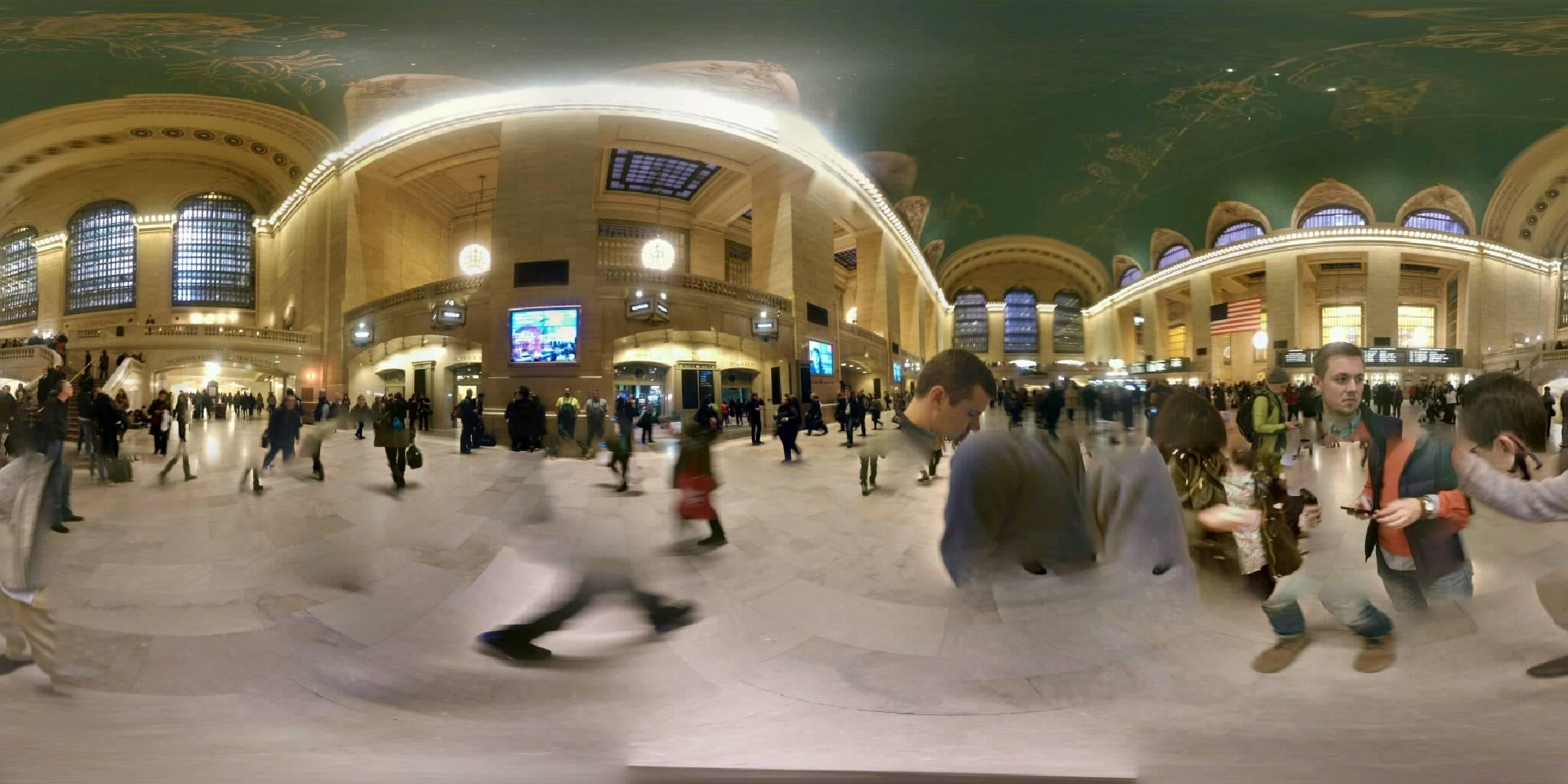 Paseo en Grand Central Station