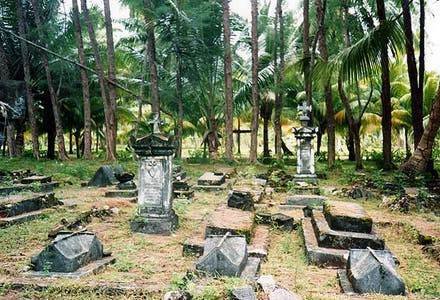 Bel Air Cemetery in Mahe