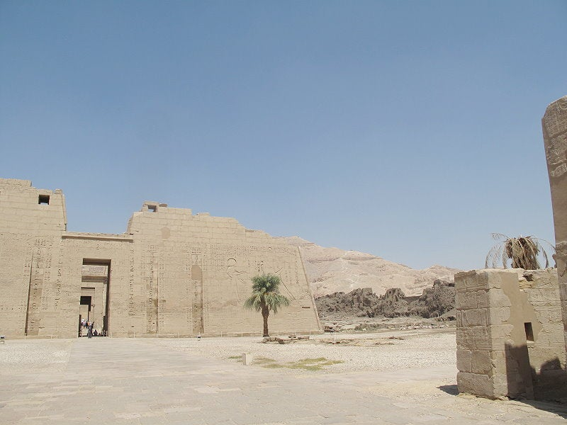 Mar en Medinet Habu