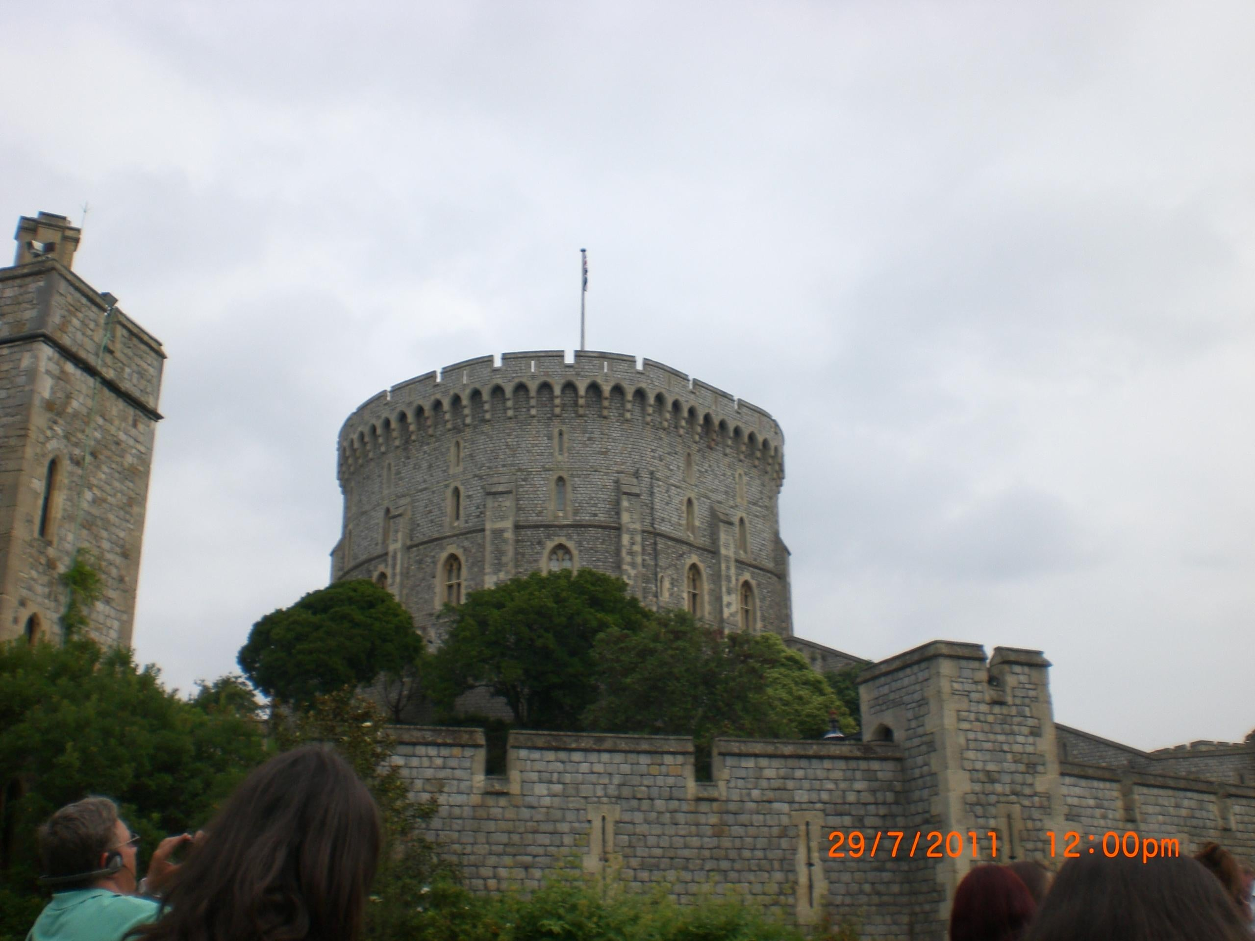 Torre en Castillo de Windsor