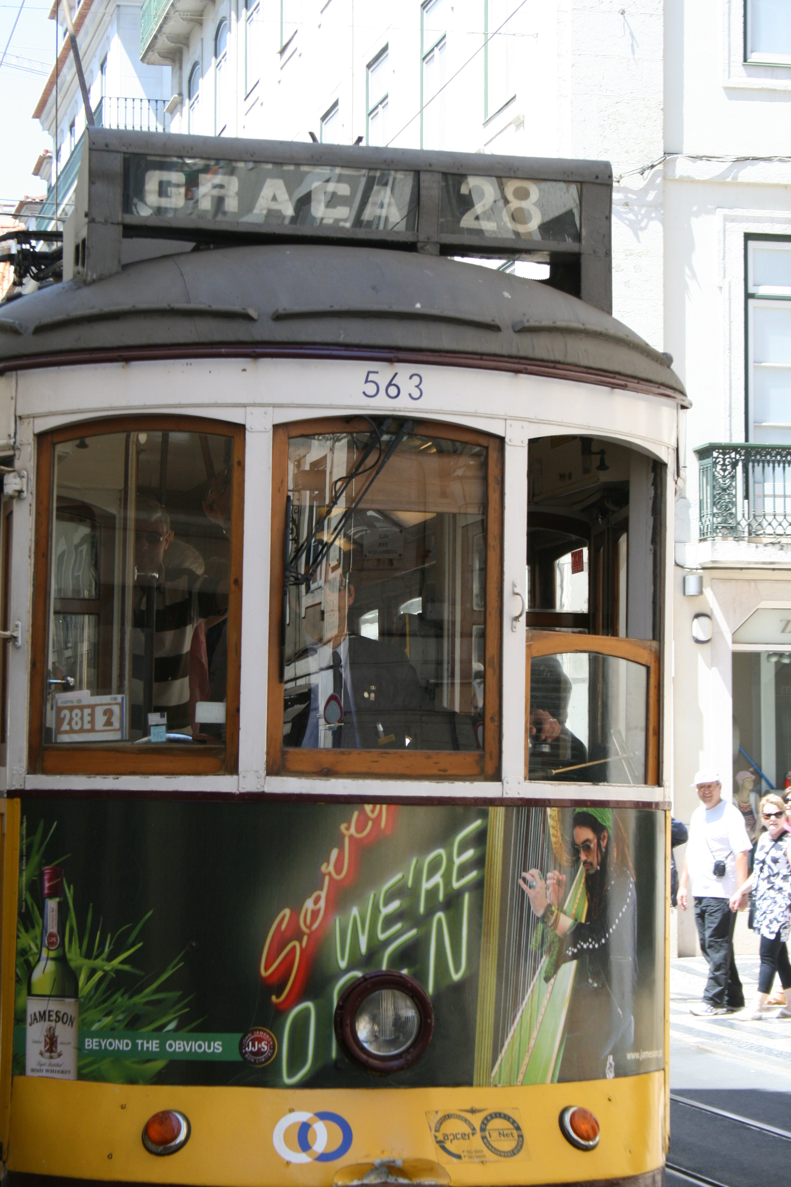Cable Car in Tram 28