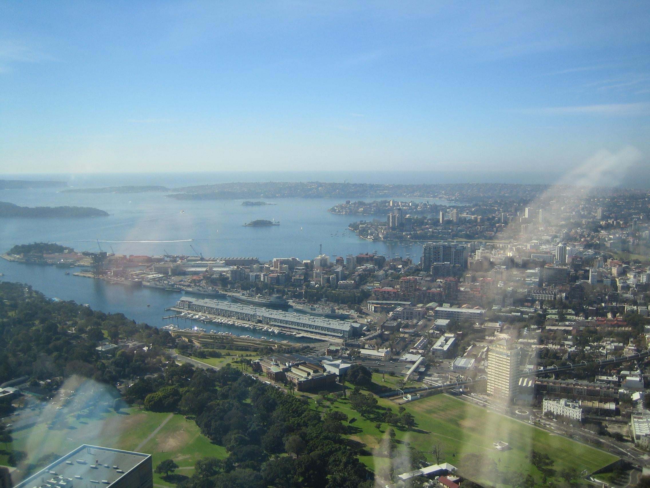 Paisaje en Sydney Tower