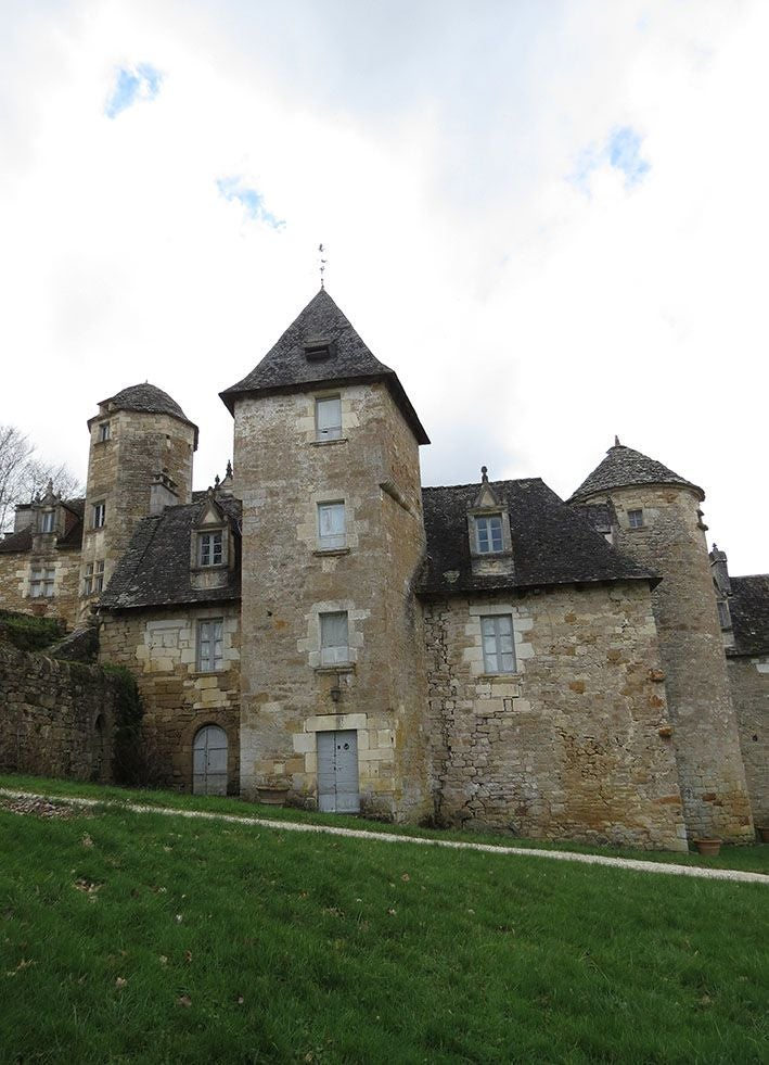 Abbey in Château des Chabannes