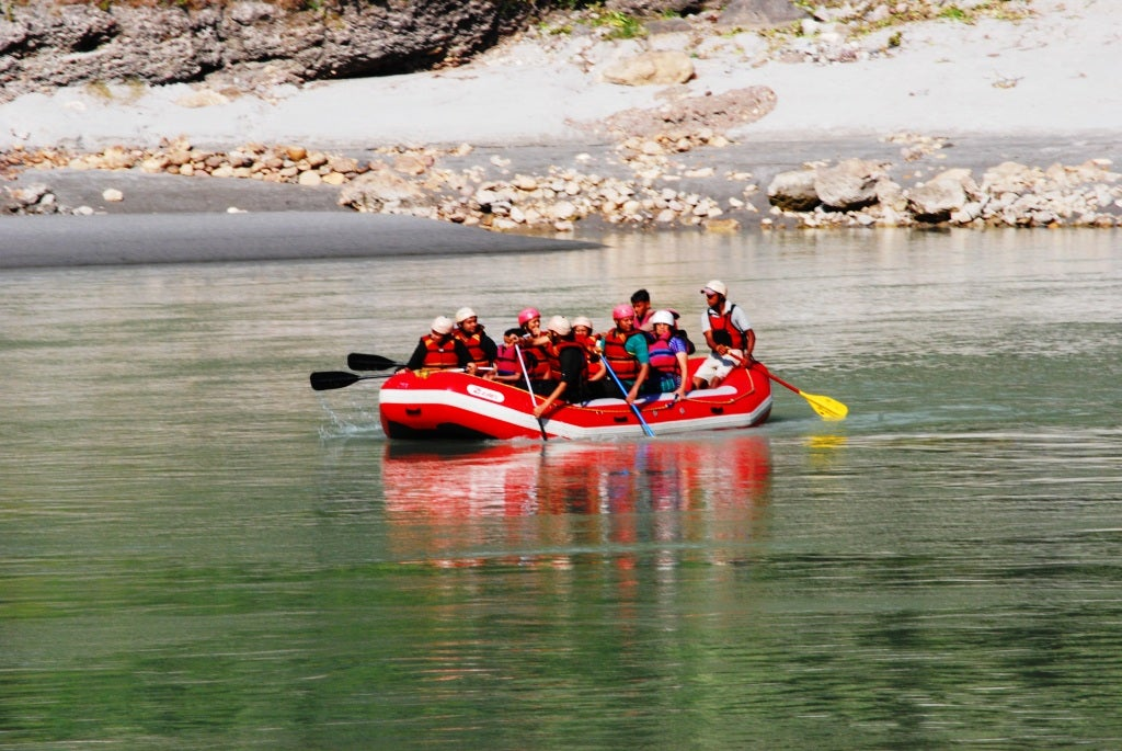 Rafting en el Ganges