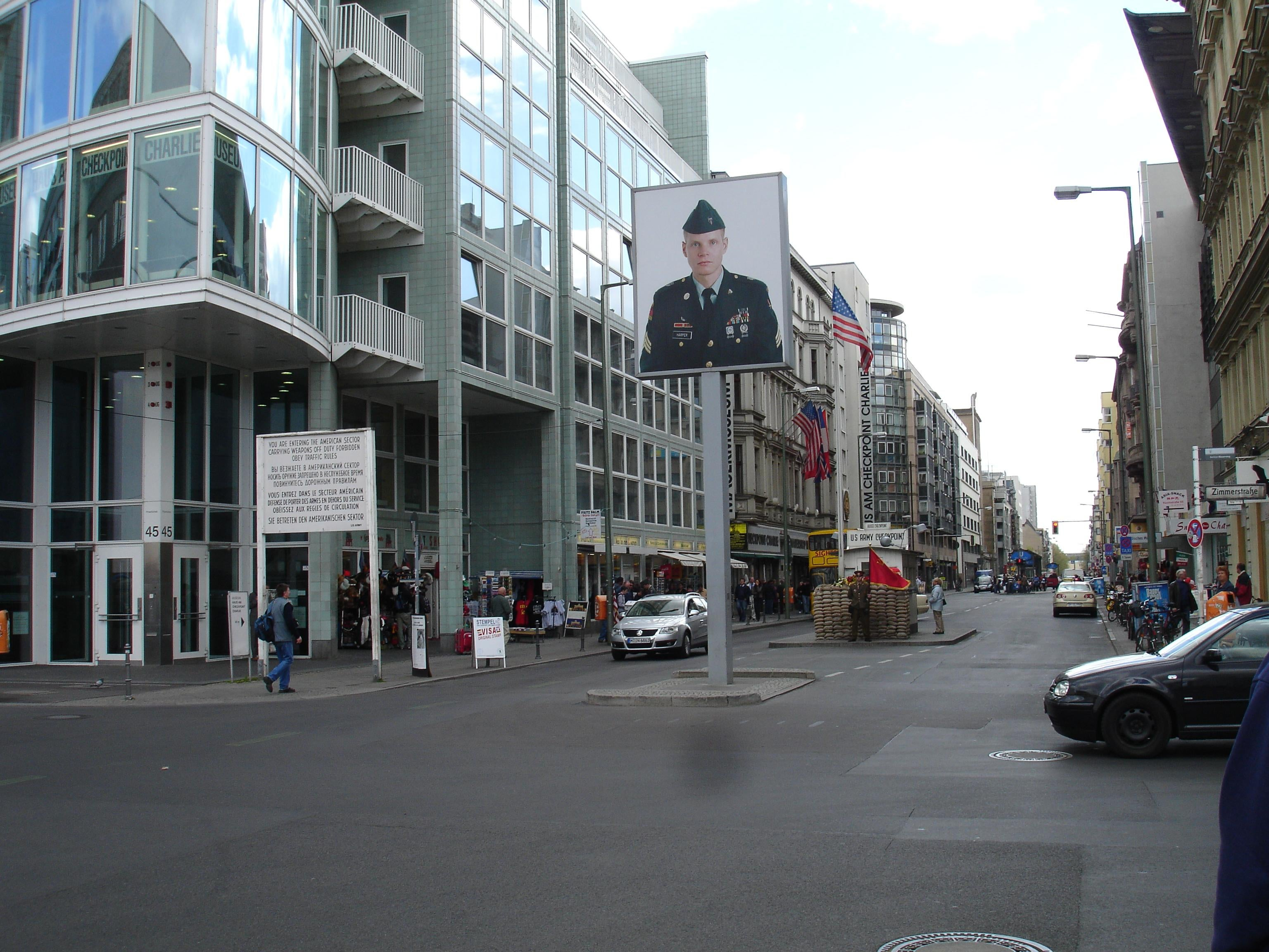 Arquitectura en Checkpoint Charlie
