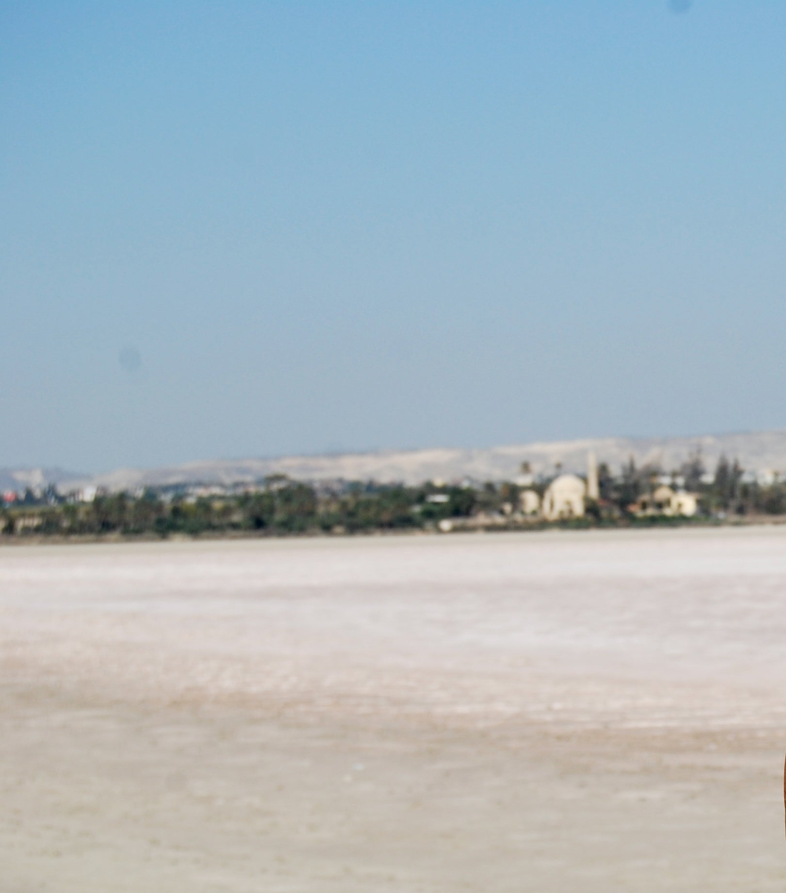 Salt lake of Larnaca
