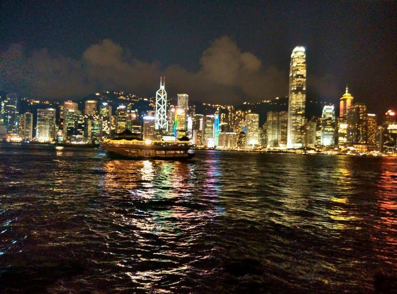 Horizonte en Star Ferry