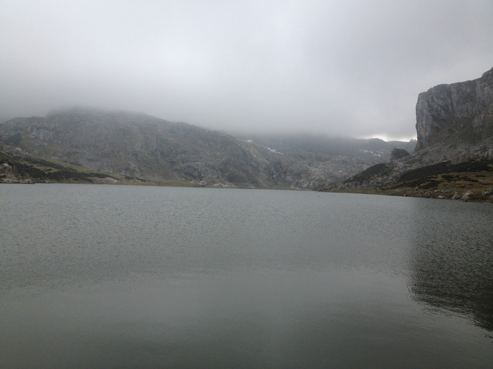 Water in The Lakes of Covadonga - Enol and Ercina lakes
