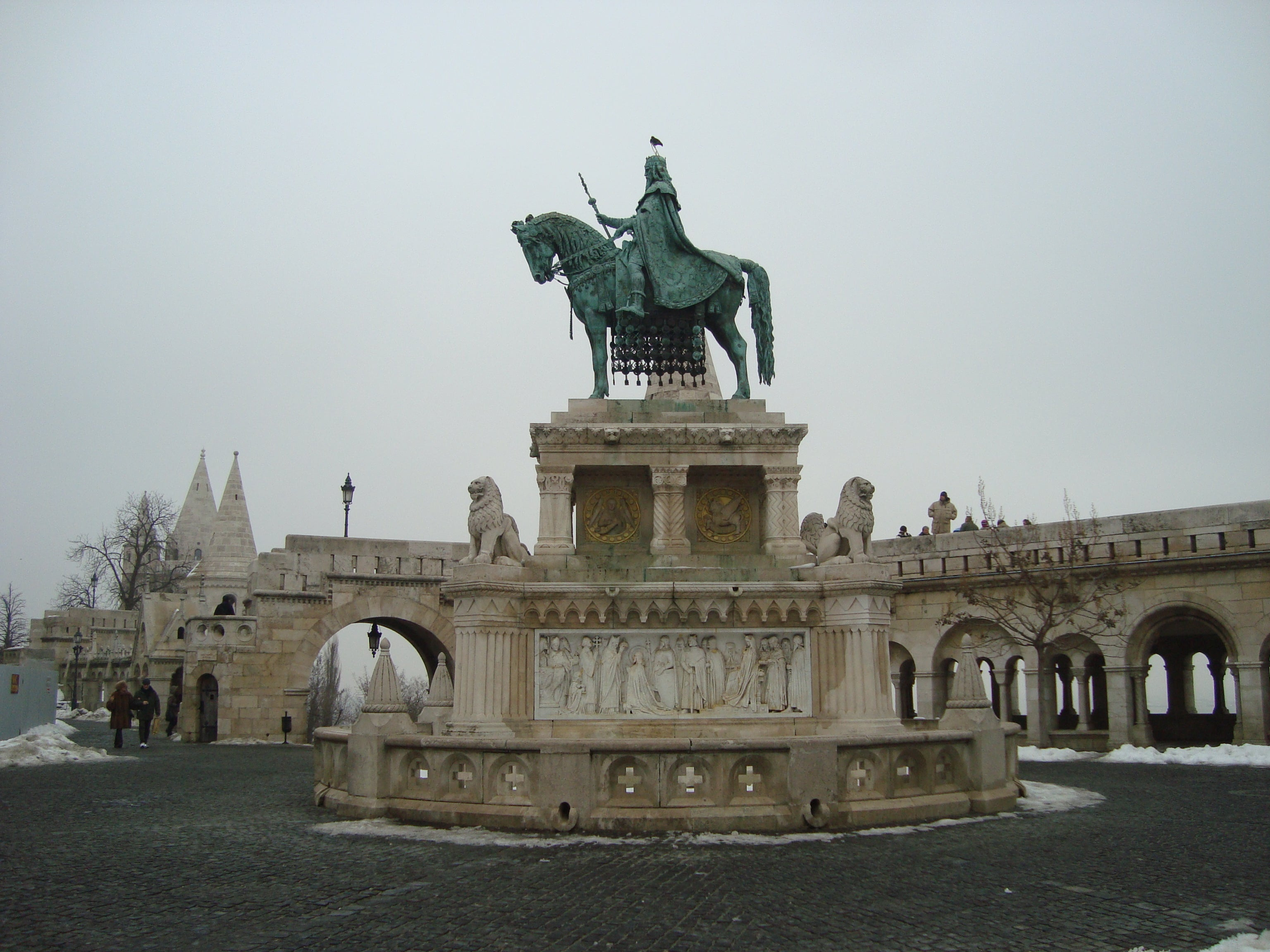 Palace in Fisherman's Bastion