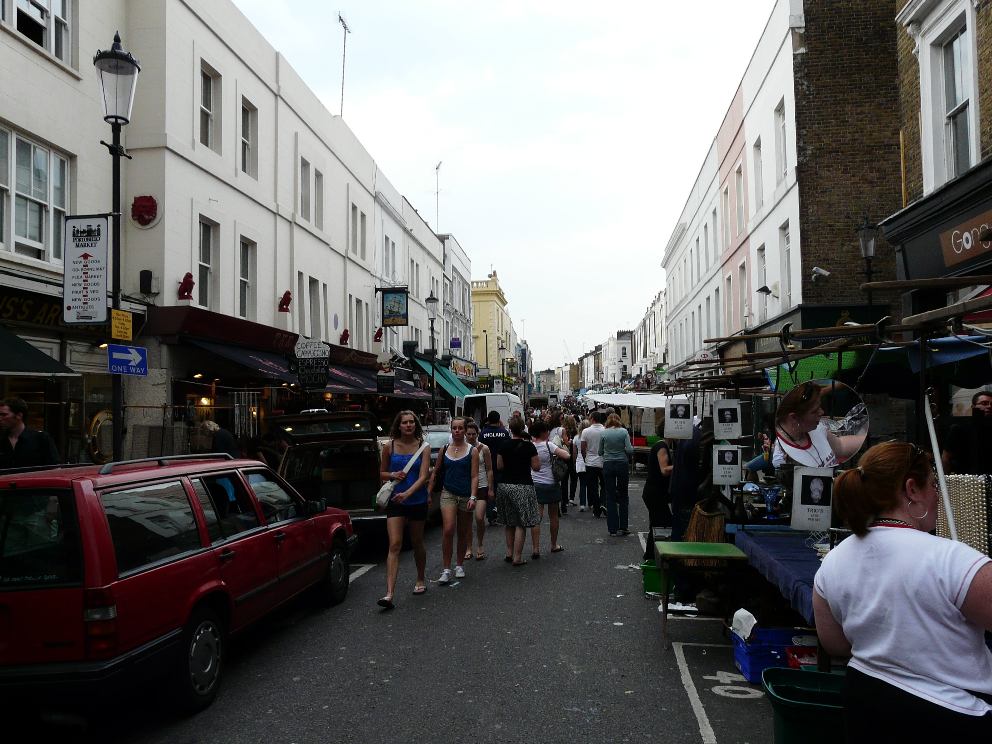 Mercadillo de Portobello Road