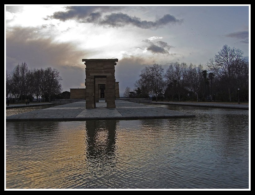 Weather in Temple of Debod