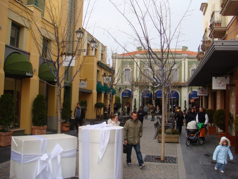 Restaurante en Las Rozas Village outlet shopping