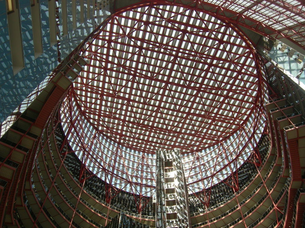 Cúpula en James R. Thompson Center