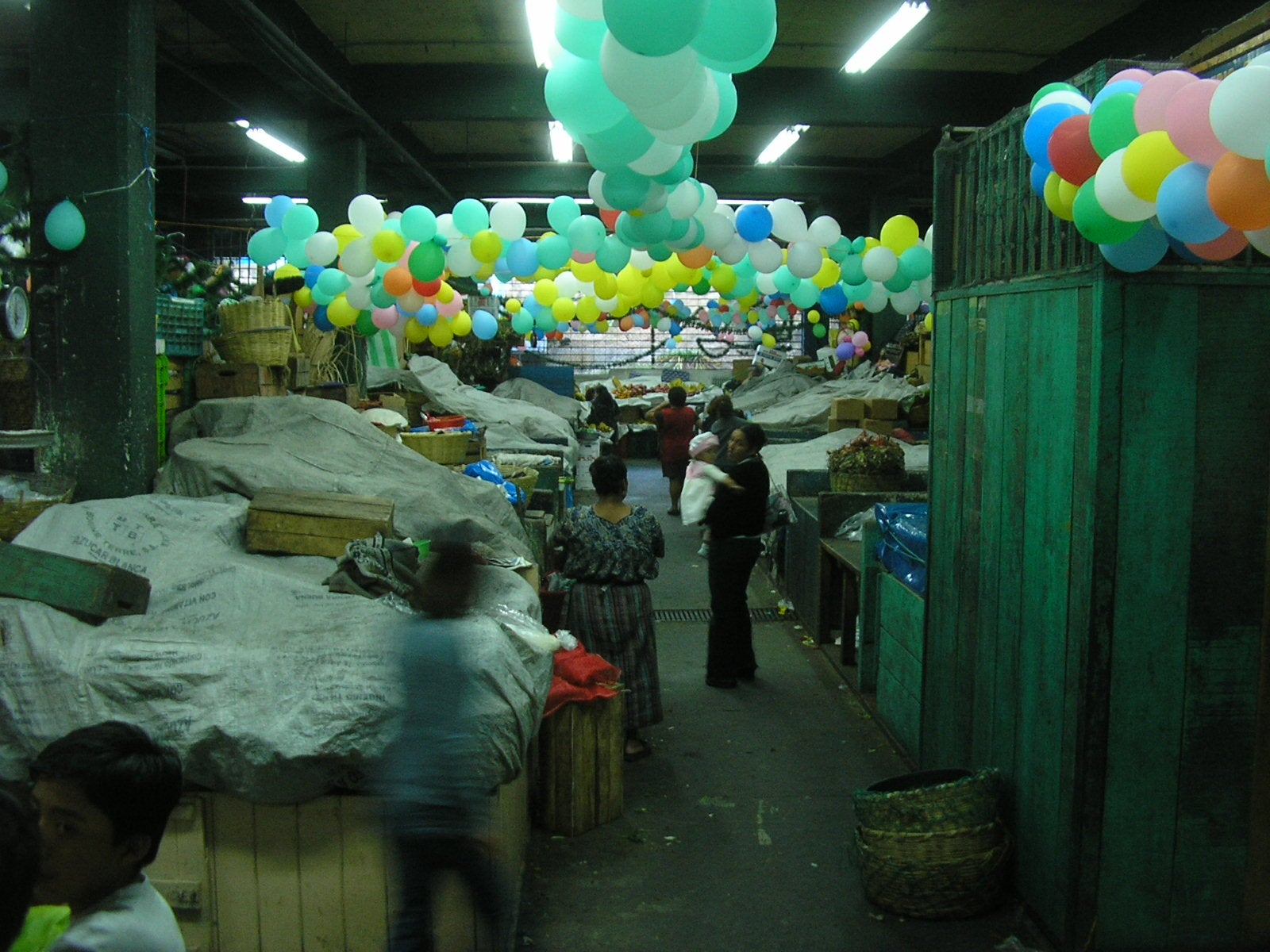 Ciudad en Mercado Central