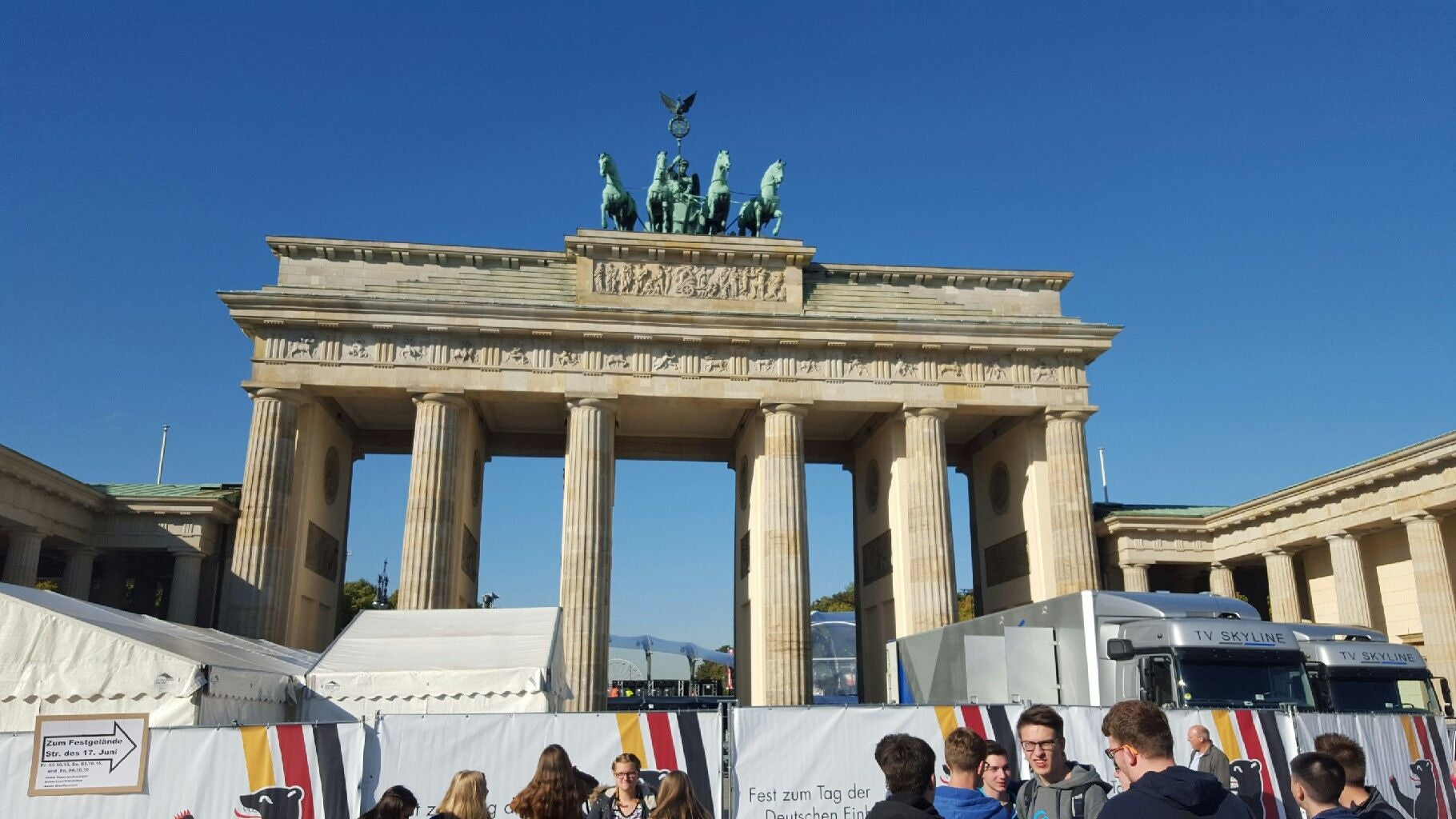 Tourism in Brandenburg Gate