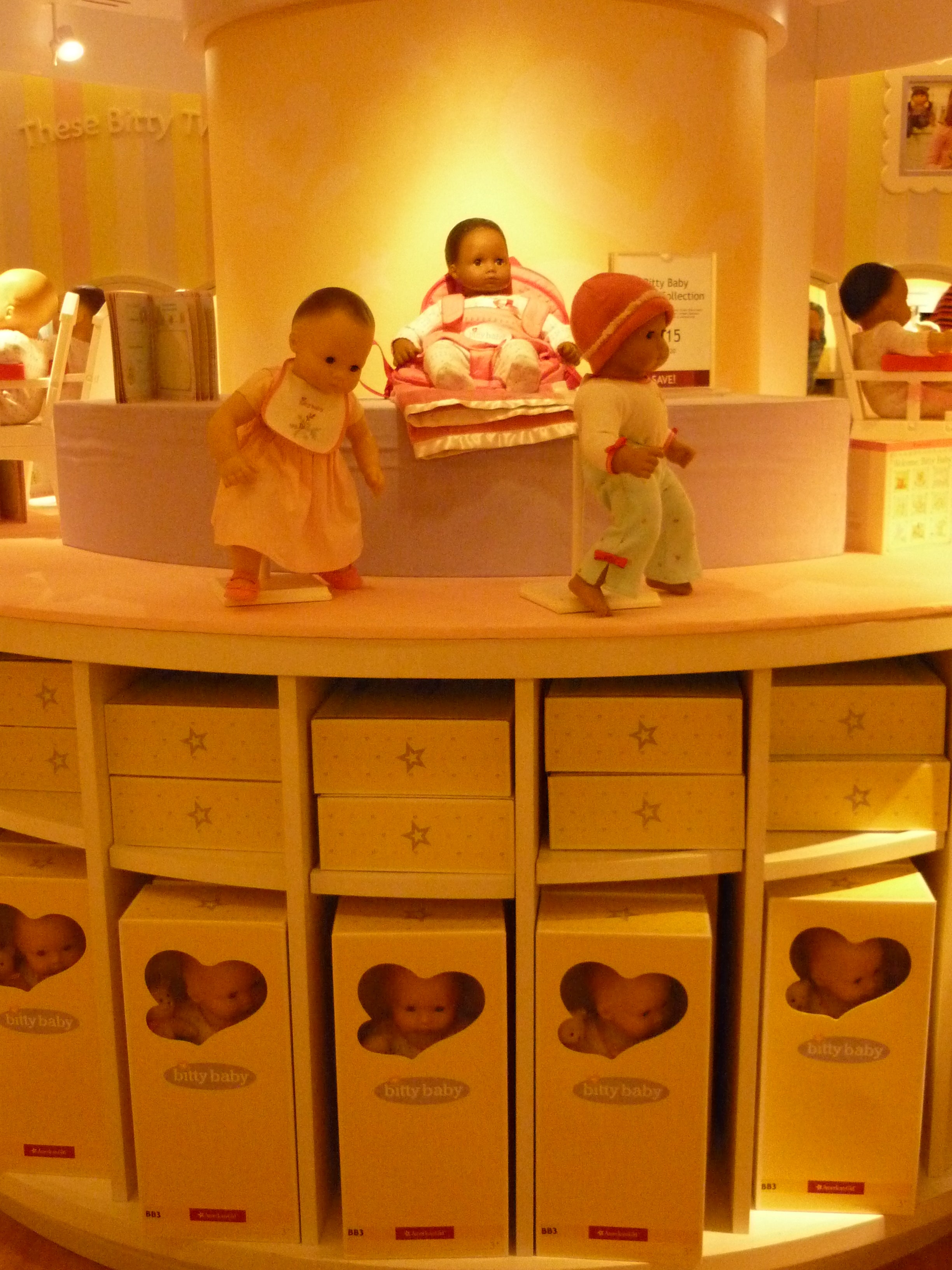 Amarillo en American Girl Place