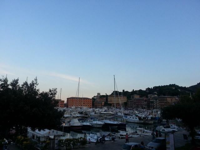 Skyline en Santa Margherita Ligure