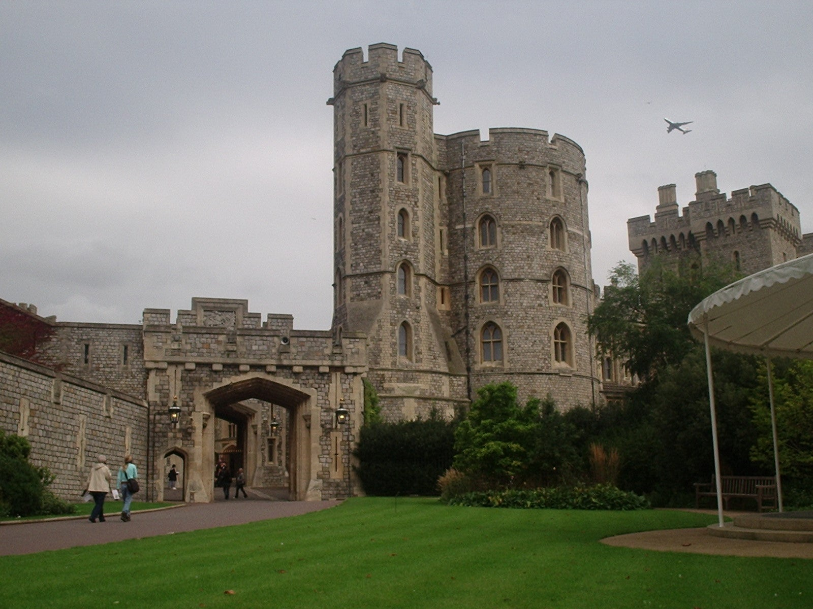 Historia antigua en Castillo de Windsor