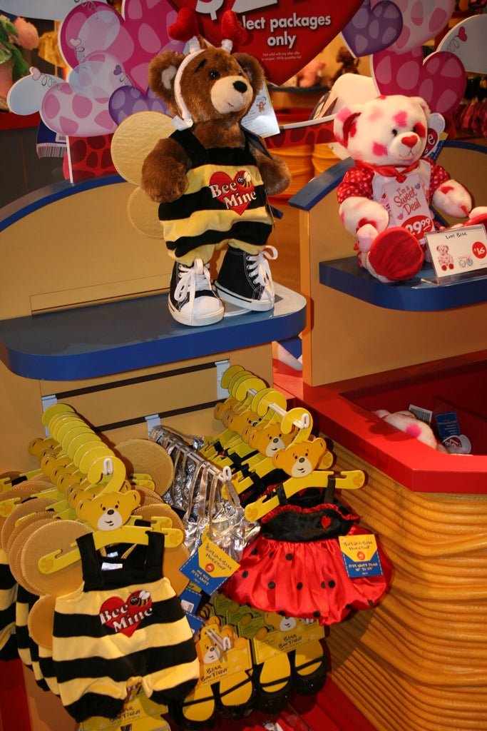 Disfraz en Build a Bear Workshop