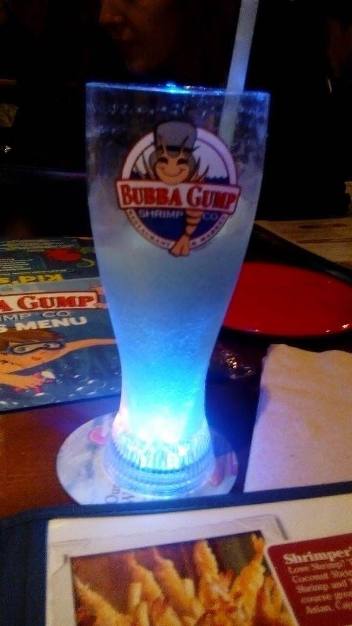Bebida en Bubba Gump Shrimp Co.