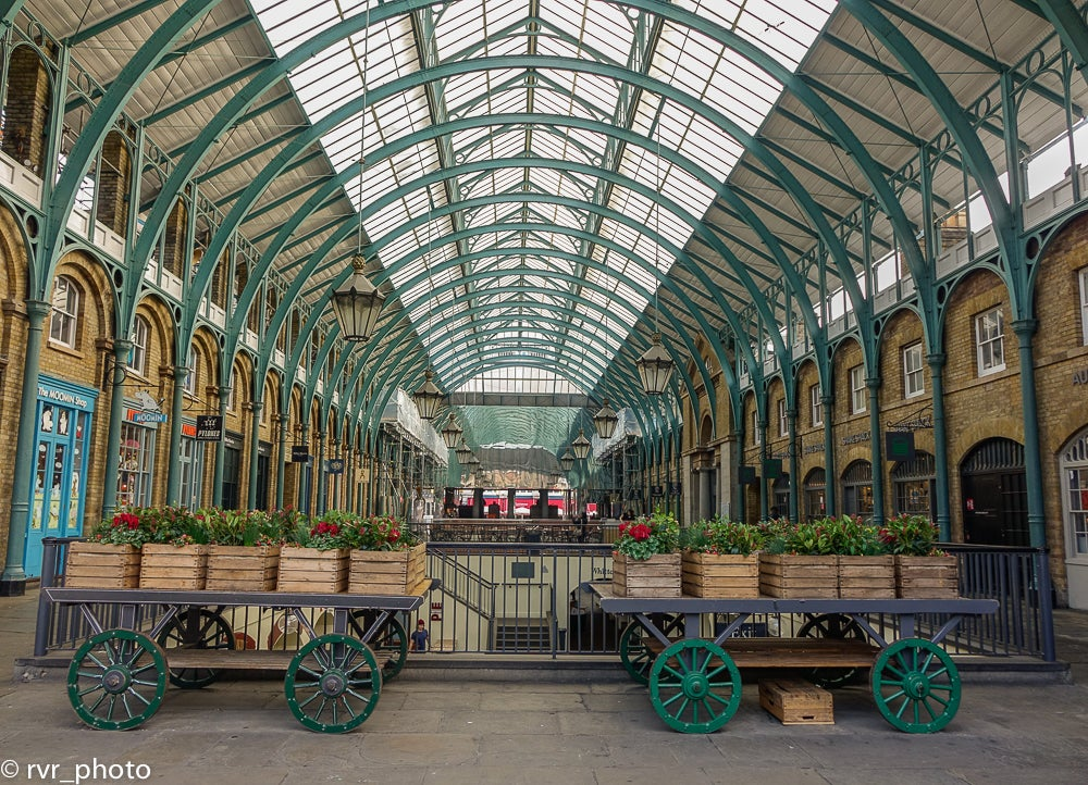 Transporte en Covent Garden