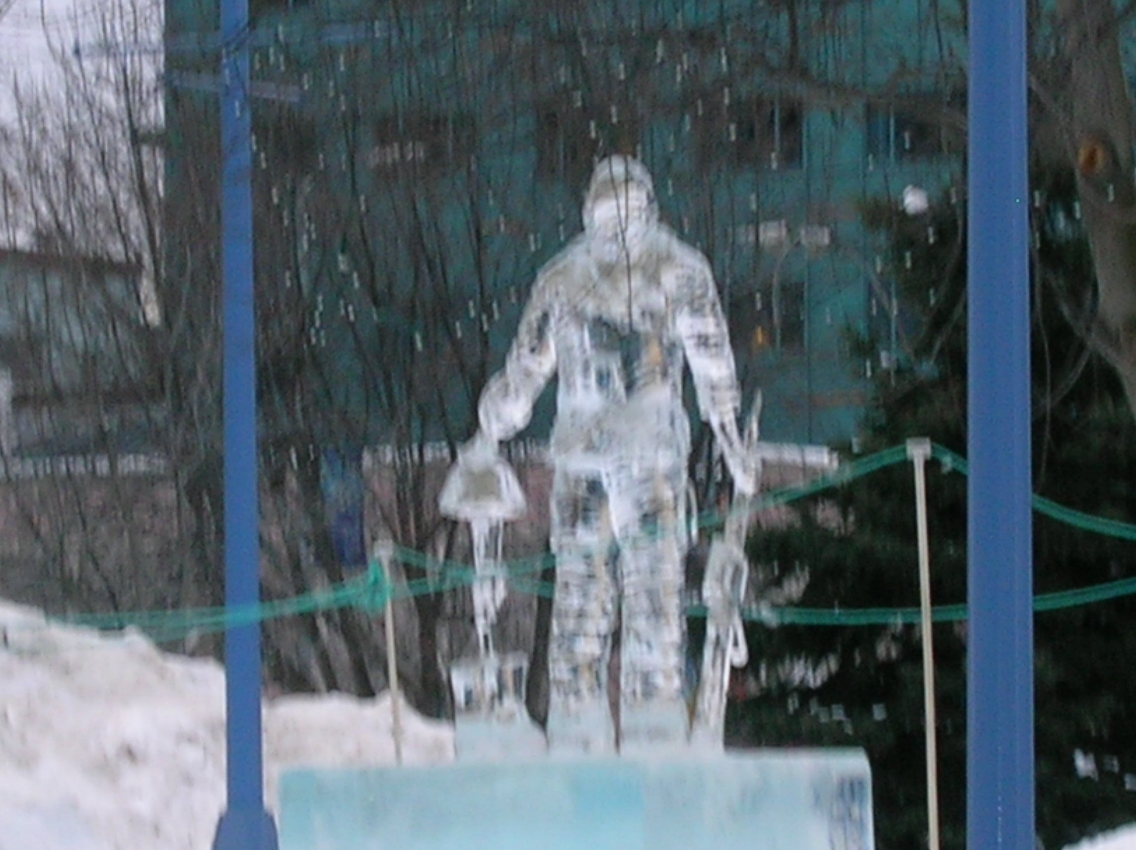 Crystal Gallery of Ice (Sculpture de glace)