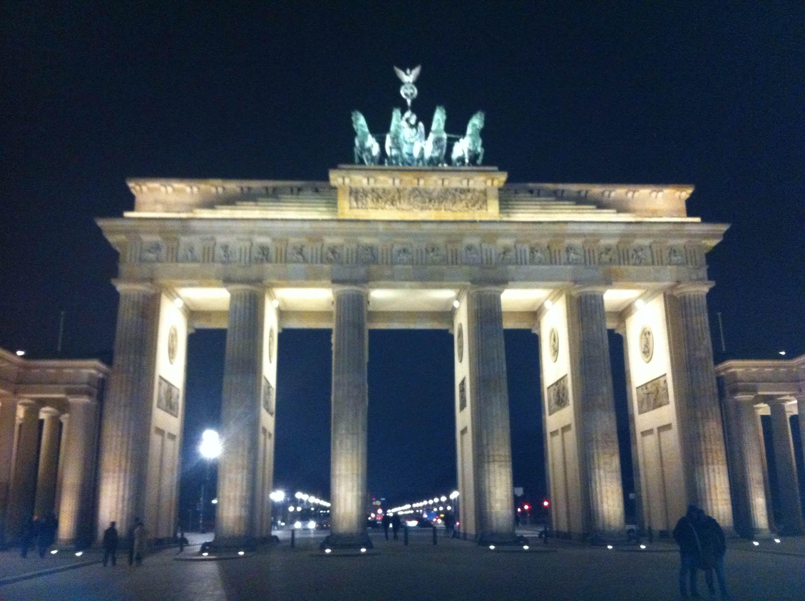 Parthenon in Brandenburg Gate