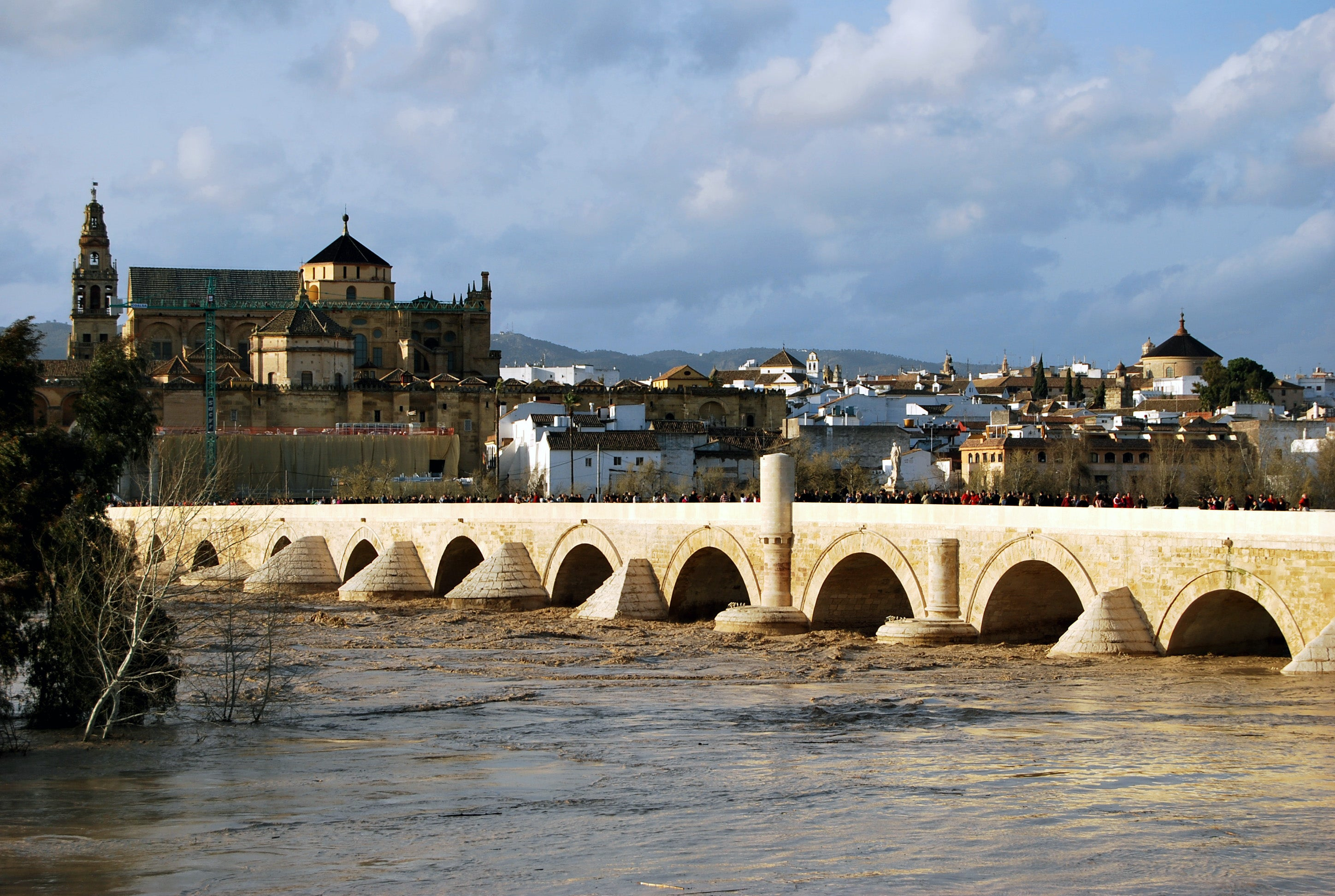 Fortification in Roman Bridge of Córdoba