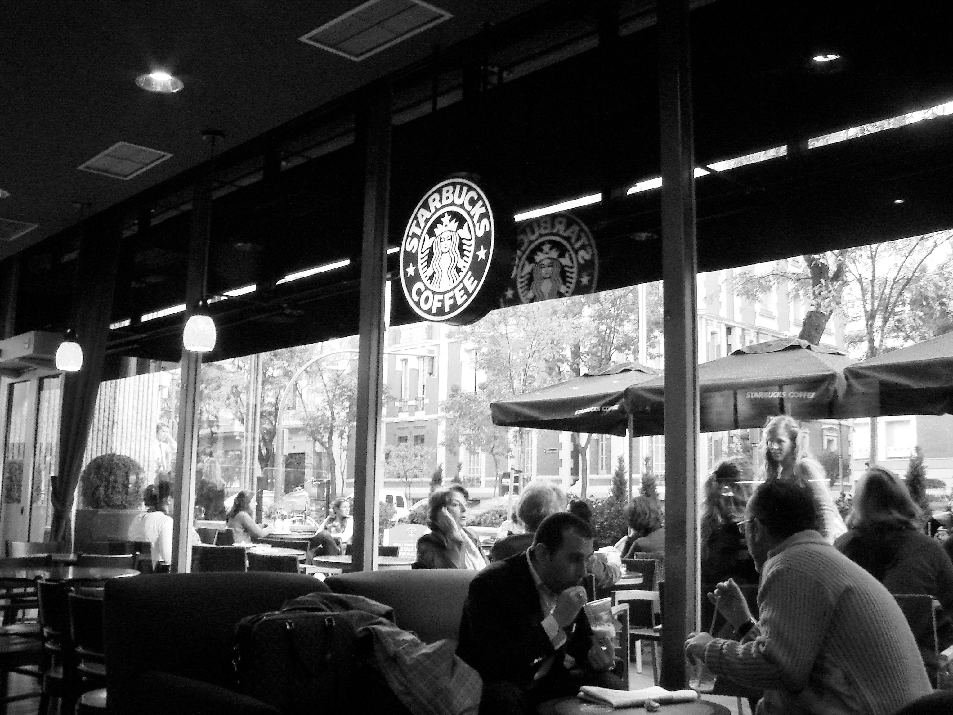 Restaurante en Starbucks Coffee