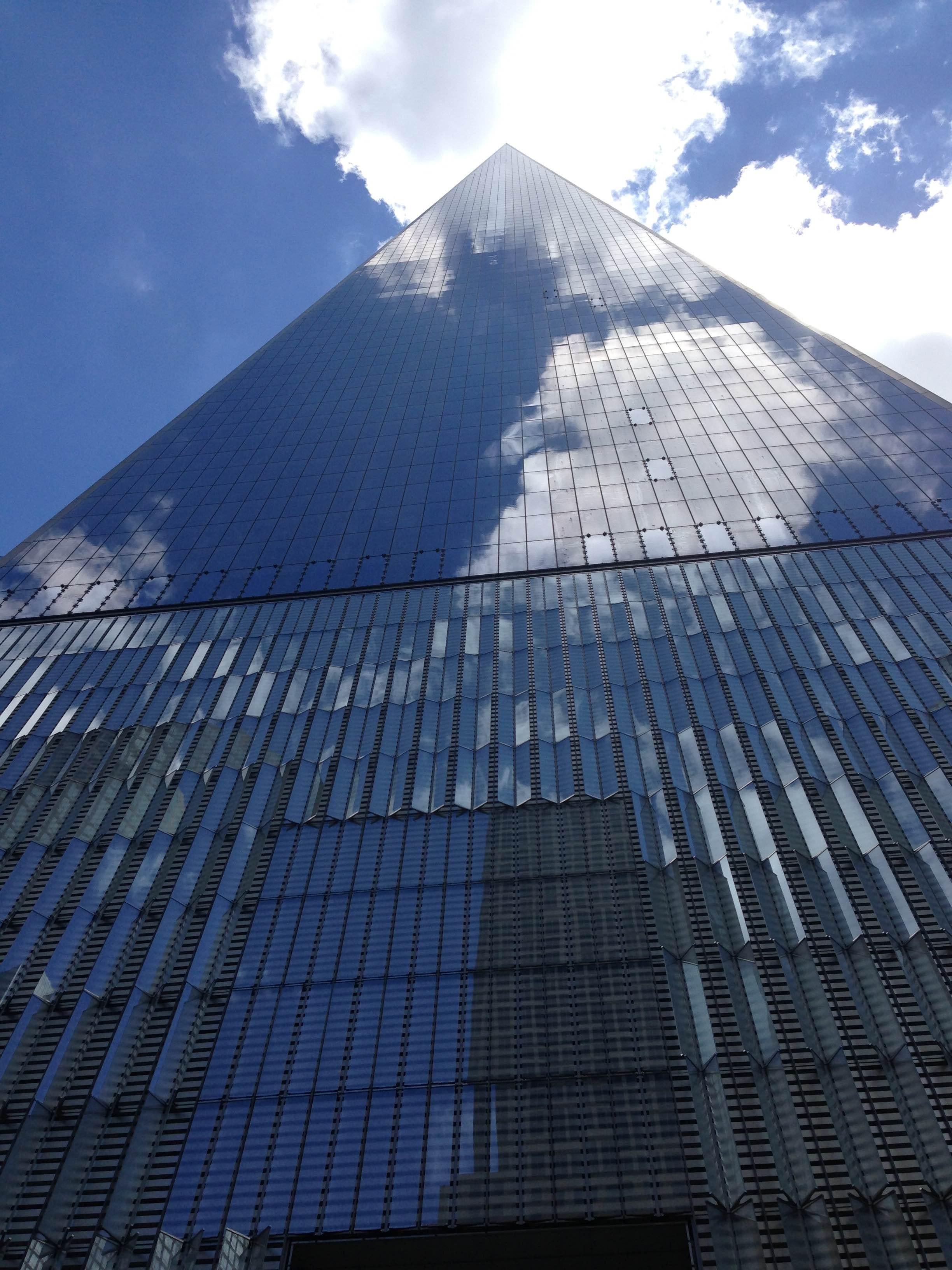 Reflejo en One World Trade Center