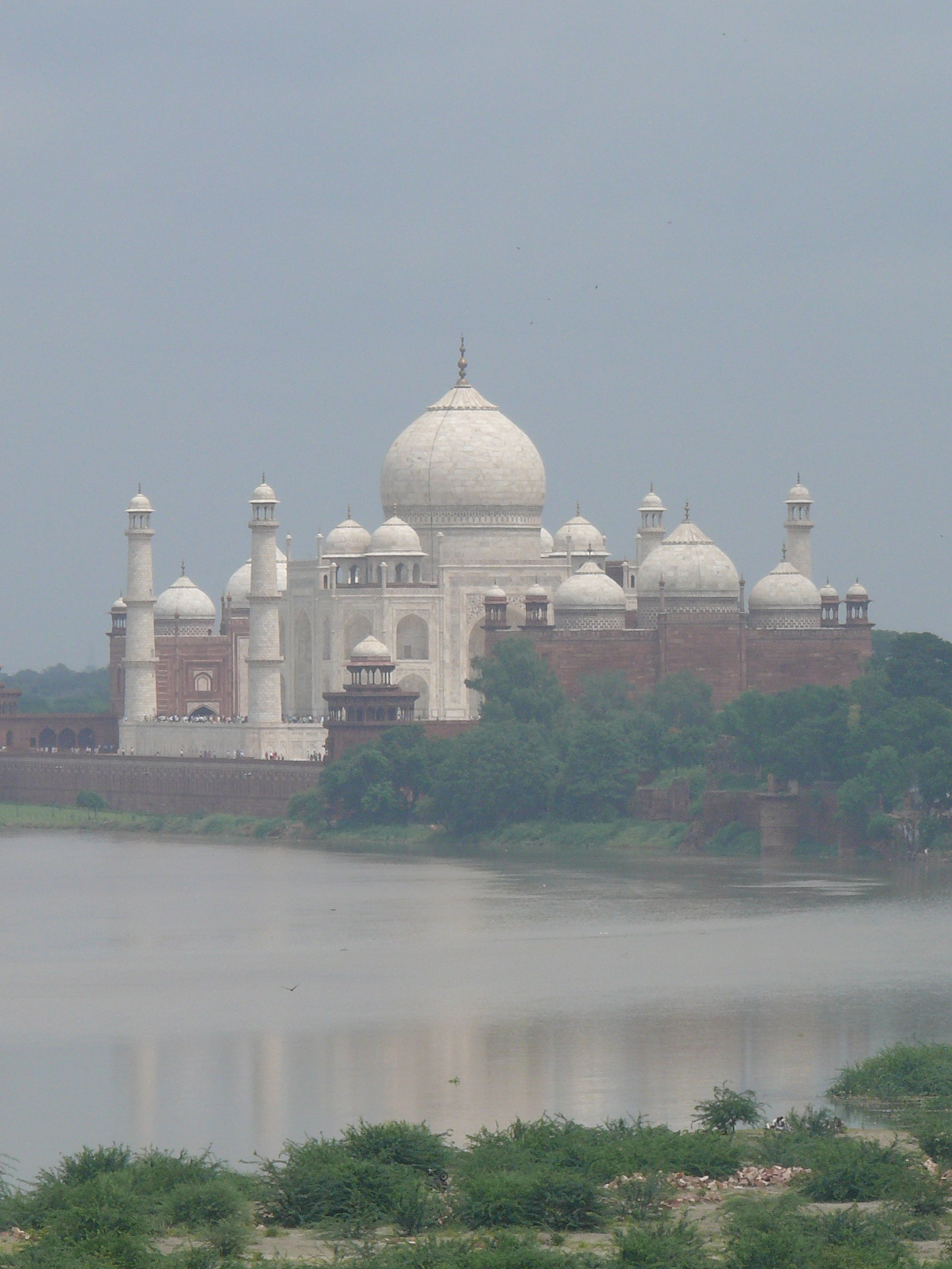 Costa en Taj Mahal