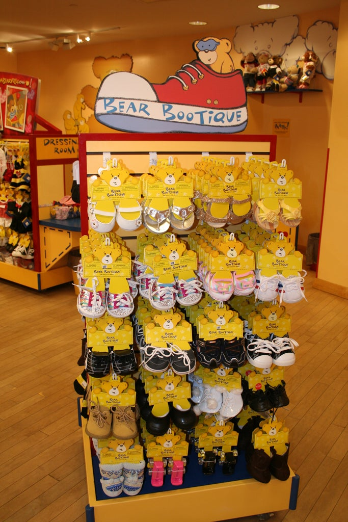 Tienda en Build a Bear Workshop