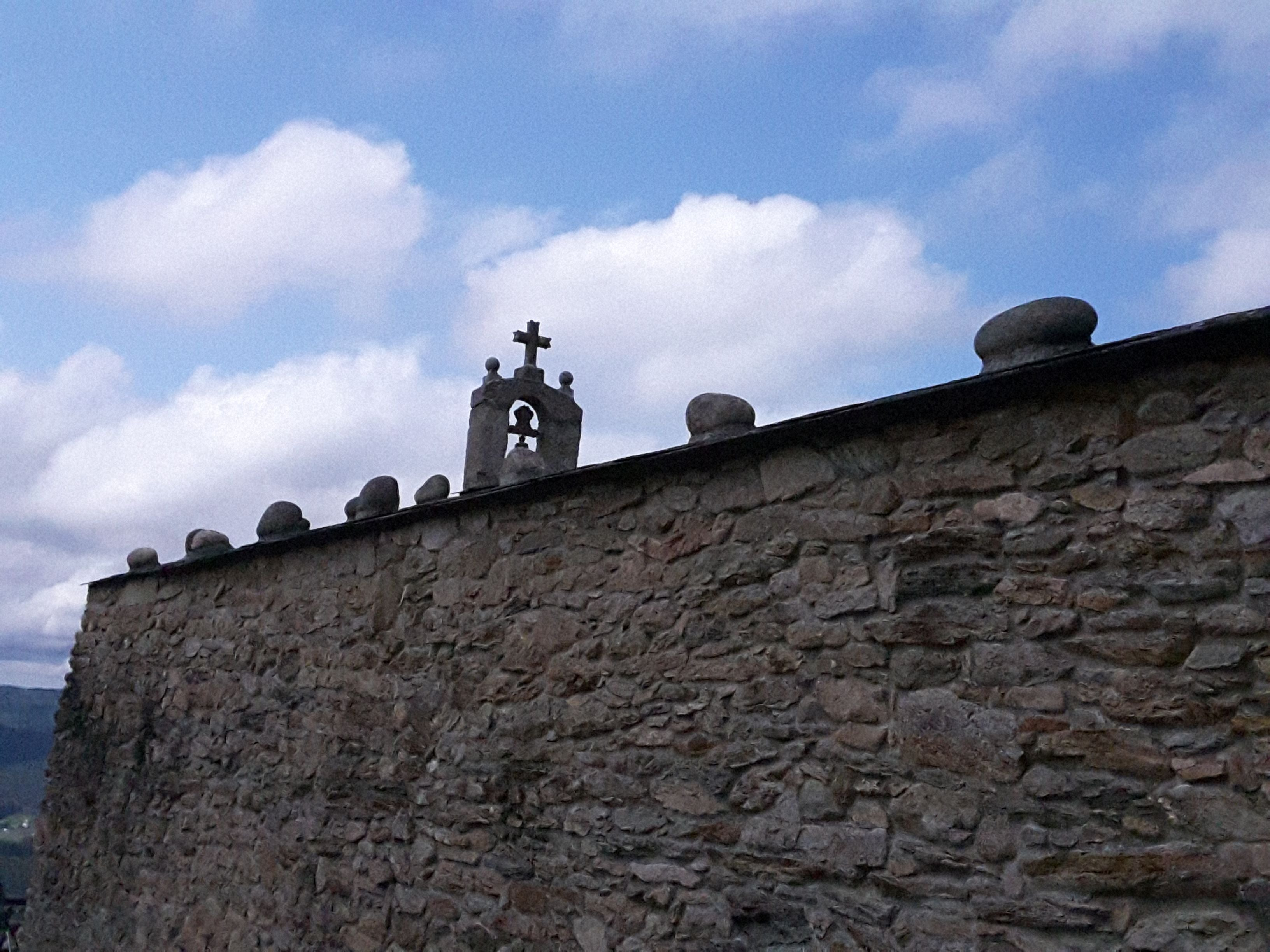 Pared en El Mirador de San Roque