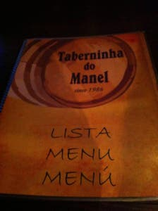 Taberninha do Manel