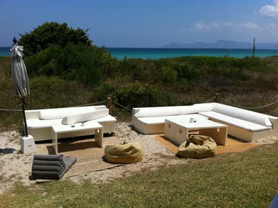 La playa, restaurante chill out