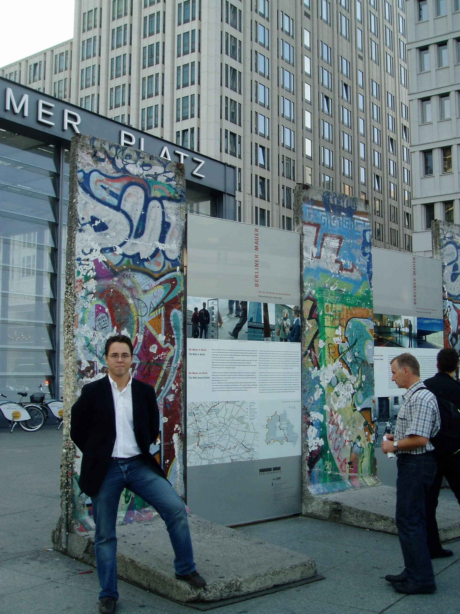 Pared en Checkpoint Charlie