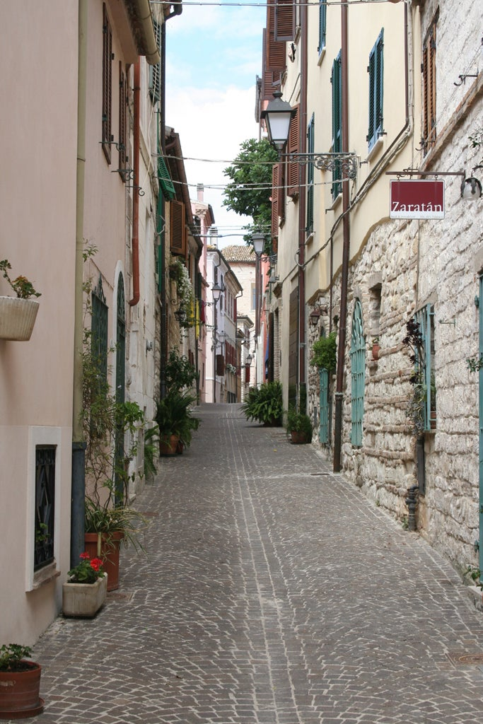 Streets of Sirolo